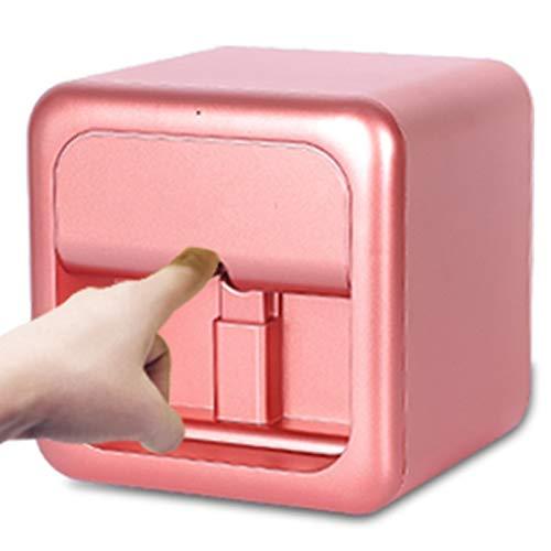 Pc-HXG Stampanti per Unghie 3D, Stampante Digitale Professionale per Nail Art Unghie Artistiche con Pittura a Colori,Controllo Tramite App Mobile Gratuita