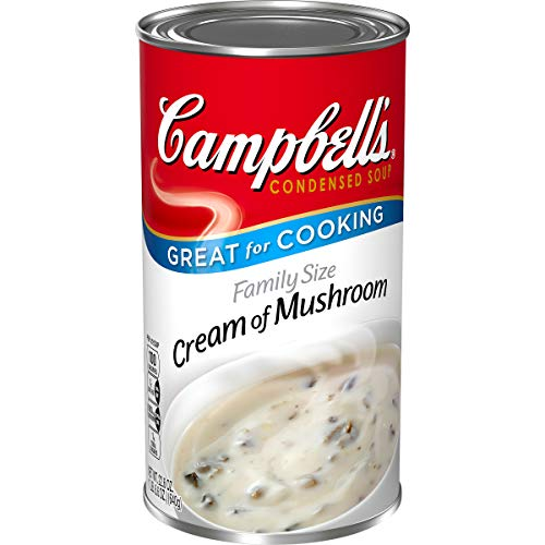 Campbell's Condensed Soup, Cream of Mushroom, Family Size, 22.6 oz
