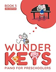 Kids Piano Lessons Birmingham - WunderKeys For Preschools Book 3