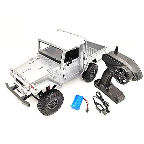 EAPTS MN Model MN-45 RTR 1/12 2.4G 4WD Multiple Colour Rc Car & LED Light Crawler Climbing Off-Road Truck for Boys Kids