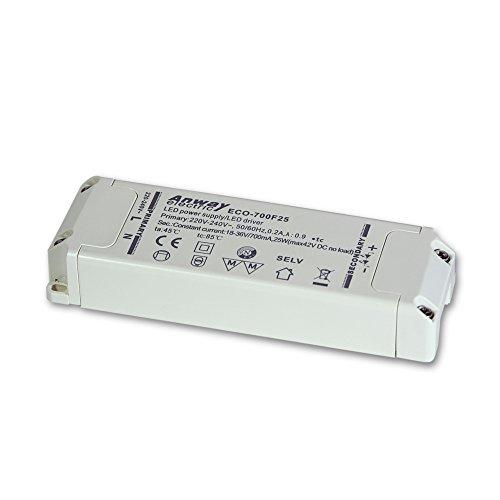 ANWAY 00012189 LED Treiber ECO-700F25 25W/700mA/18-36V