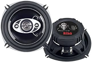 $21 » BOSS Audio Systems P55.4C 300 Watt Per Pair, 5.25 Inch, Full Range, 4 Way Car Speakers Sold in Pairs