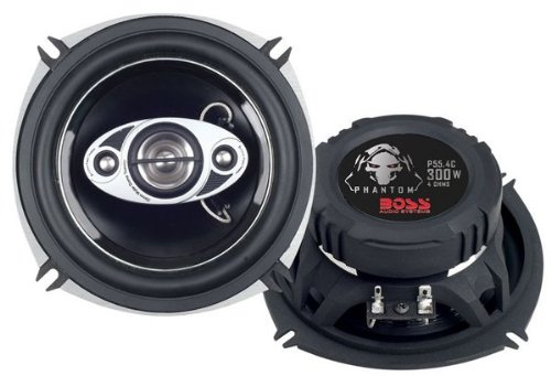 BOSS Audio P55.4C 300W 4-Way Speakers