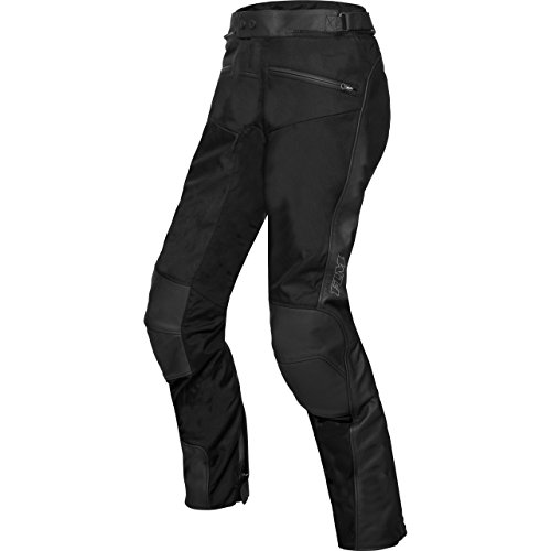FLM Motorradhose Touren Leder-/Textilhose 3.0 schwarz schwarz 54, Herren, Tourer, Ganzjährig