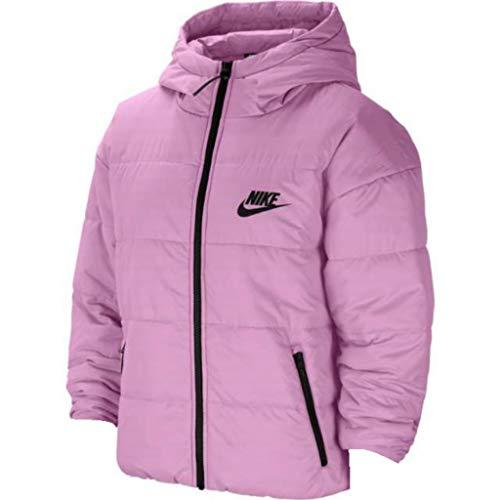 Nike Chaqueta deportiva con capucha y cremallera completa para mujer - rosa - Large