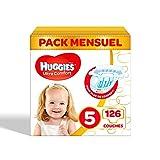 Huggies Ultra Comfort Baby, Pannolini, Taglia 5, Confezione da 3 x 42