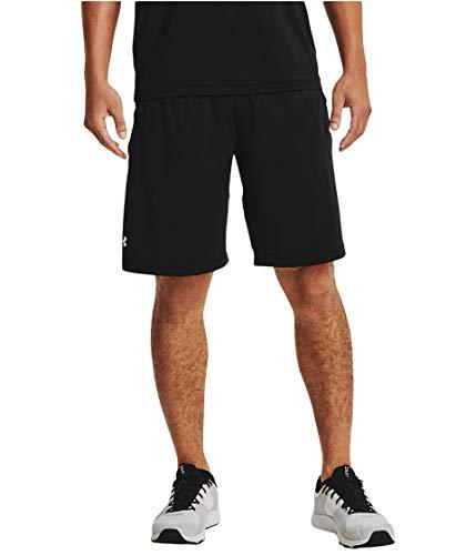 Under Armour Men's Raid 2.0 Wokout Gym Shorts , Black (001)/White, X-Small