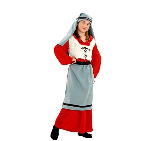 Disfraz de Panadera para niñas de 7 a 9 años