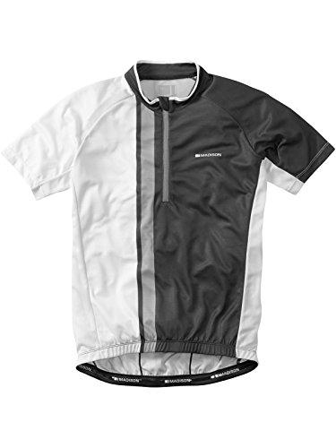 Madison Jersey Tour SS Homme Noir/WE MD | Taille = M | Couleur = Noir