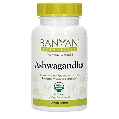 Banyan Botanicals Organic Ashwagandha Supplement
