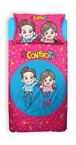ME CONTRO TE | Lenzuolo Singolo | 100% Cotone