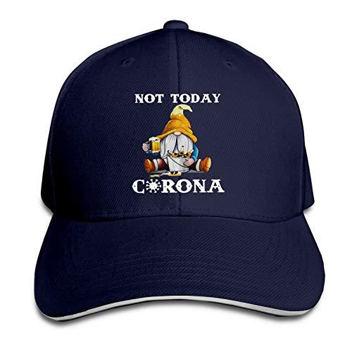 Not Today Cor-Ona-Vir-Us Unisex Fashion Classic Baseball Cap Driver Cap Dad Hat Navy
