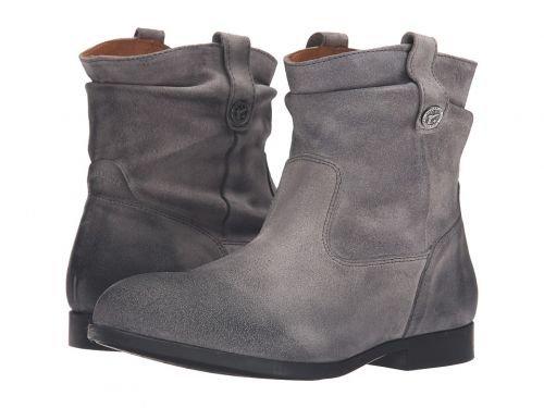[ビルケンシュトック] レディース 女性用 シューズ 靴 ブーツ アンクルブーツ ショート Sarnia – Grey Waxed Suede 36 (US Women's 5-5.5) Regular [並行輸入品]