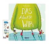 Carlsen Verlag Le petit WIR (couverture rigide) + 1 planche d'autocollants pour enfant - Livre d'images humoristique et éducatif à partir de 4 ans.