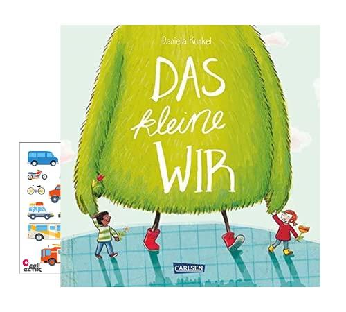 Carlsen Verlag Das kleine WIR (Hardcover) + Kindersticker- humorvolles, lehrreiches Bilderbuch ab 4 Jahren
