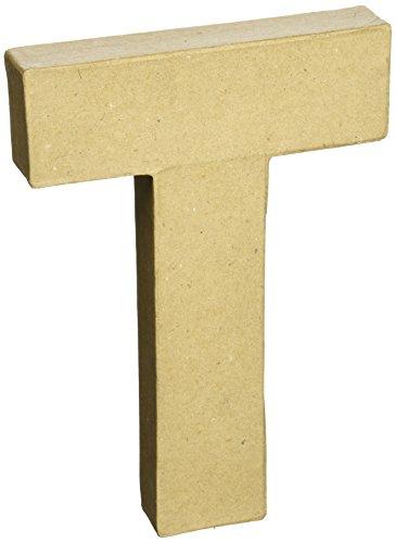 Paper Mache Letter 8quotX51/2quotLetter T