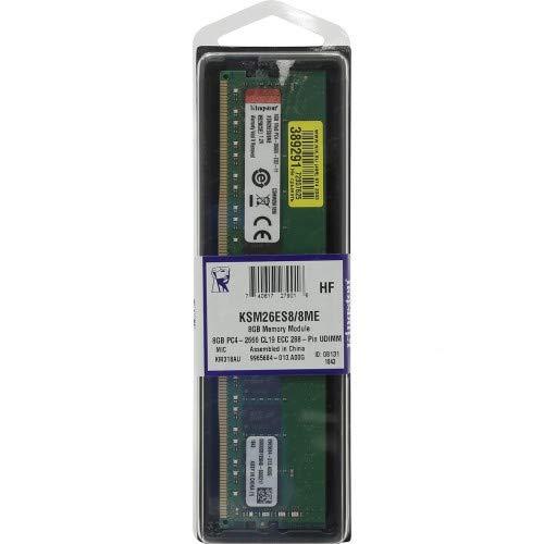 Kingston Server Premier KSM26ES8/8HD Arbeitsspeicher 8GB 2666MHz DDR4 ECC CL19 DIMM 1Rx8 Hynix D