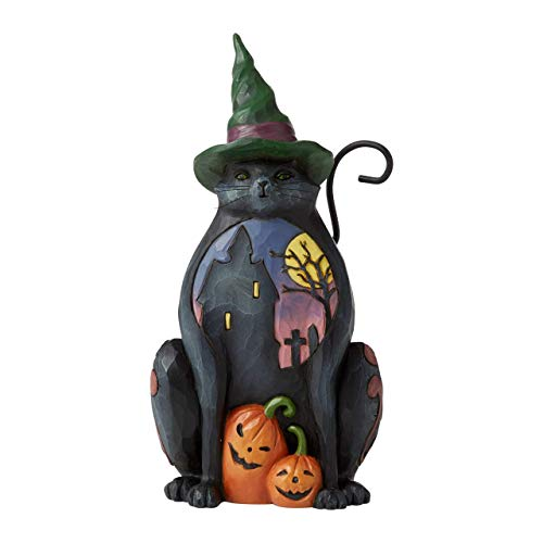Heartwood Creek by Jim Shore, Figura de gato de Halloween