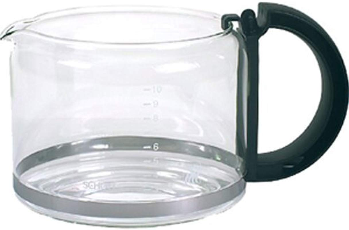 Krups 036 42 10 Cup Glass Carafe Black Handle Lid Not Included