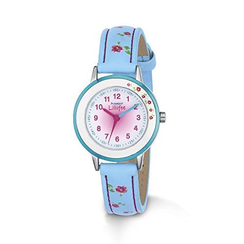Prinzessin Lillifee Mädchen-Armbanduhr Analog Quarz Kunstleder 2013213