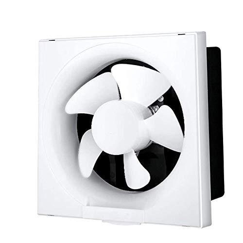 LXZDZ Extractor de baño Ventilador de escape Ventilador fuerte para cocina Ventiladores de ventilación de ventana de inodoro Ventiladores de pared de conducto