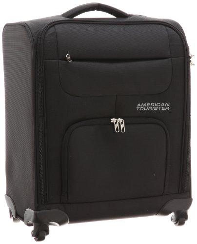 [アメリカンツーリスター] スーツケース キャリーケース エムブイソフトスピナー 39L ブラック 機内持ち込み可 保証付 46 cm 2.6kg