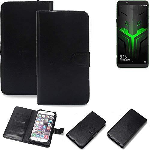 K-S-Trade® Handy Schutz Hülle Für Xiaomi Blackshark Helo Schutzhülle Bumper Schwarz 1x
