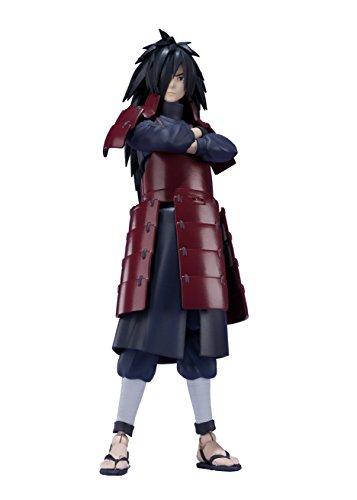 BANDAI 17565 Action-Figur Naruto 56409 Madara Uchiha SH Figuarts, 15 cm