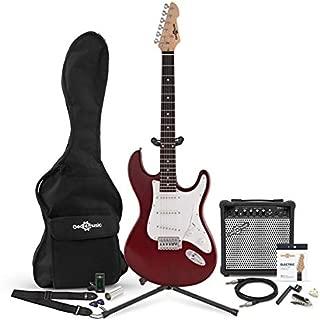 Guitarra Electrica LA + Pack Completo - Rojo