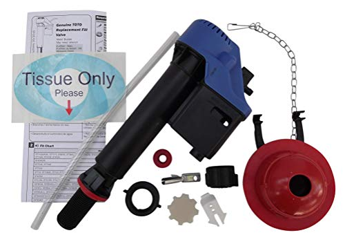 Toto Toilet Replacement Parts Fill Valve & Flapper Combo Kit