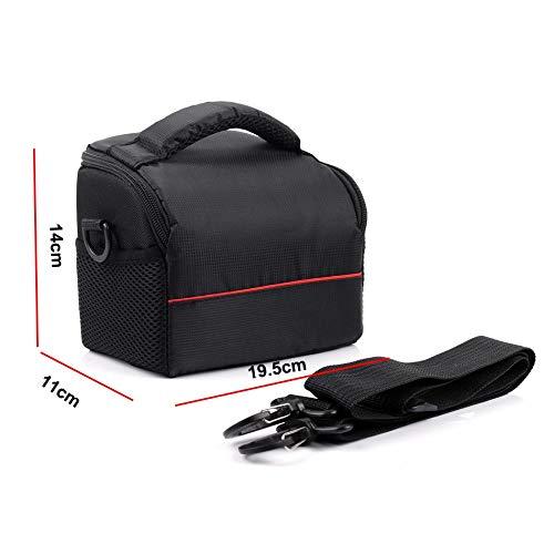 Beliebte Klassiker Wasserdichte Kamera-Beutel-Schulter-Kasten for Sony Alpha A6500 A6300 A6000 A5100 A5000 NEX-7 NEX-6 NEX-5T NEX-5 HX400 HX300-Foto-Tasche Täglicher Gebrauch ( Color : Red )