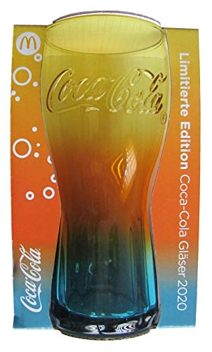 Coca Cola & Mc Donalds - Edition 2020 - Glas - Regenbogen