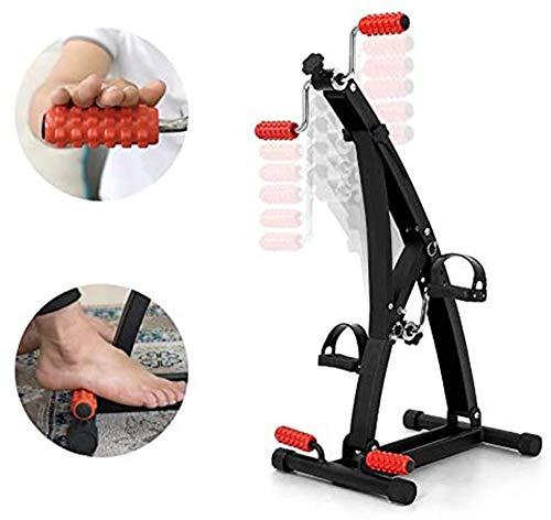 Thole Heimtrainer Tragbarer Mini Stepper Beinarmtrainer Ober und Unterschenkel Workout Machine Gym für ältere Männer Frauen