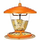 GAISTEN Wild Bird Feeder for Outdoors Hanging, 2.2lb Metal Bird Feeder...