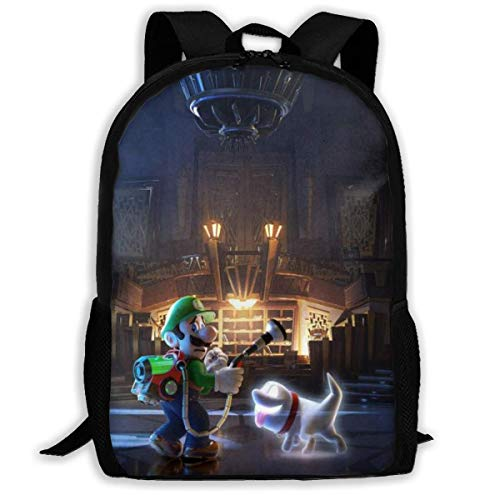 DJNGN Super Ma-ri-o Game Adult Travel Backpack Fits 15.6 Inch Laptop Backpacks School College Bag Casual Rucksack for Men & Women