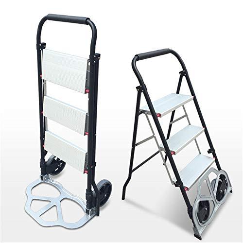 Multifunctionele Herringbone-ladder met dubbel gebruiksdoel, gemaakt van hoogwaardig aluminiumlegeringsmateriaal, roestvrij, eenvoudig te bedienen, geschikt voor thuisgebruik, renovatie.