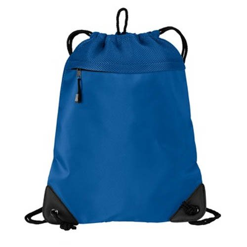 Port Authority Cinch Pack with Mesh Trim, Snorkel Blue