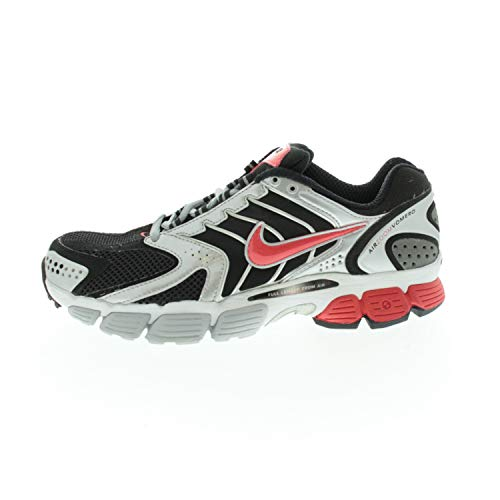 Nike Herrenschuhe Laufschuhe Air Vomero Black/Red/Silver 31278706101 (Numeric_40_Point_5)