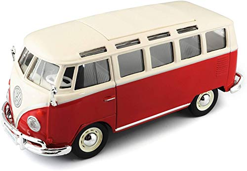 TAVITOYS, 1/24 Special Vw Samba blanco y rojo (31956W/R),