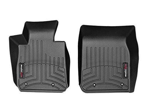 WeatherTech Passgenaue Fußmatten gummimatten passend für: BMW M2 Coupé F87 2015-19|Schwarz|1. Reihe FloorLiner