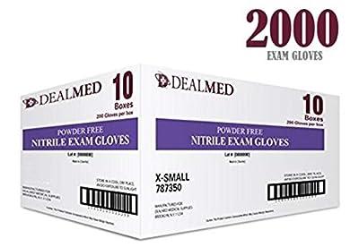 Nitrile Medical Grade Exam Gloves