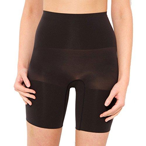 Maidenform Womens Seamfree Control Shorts Black Size S