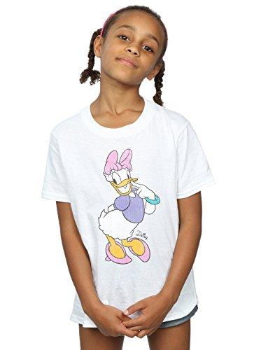 Disney Mädchen Mickey Mouse Classic Daisy Duck T-Shirt 12-13 years Weiß