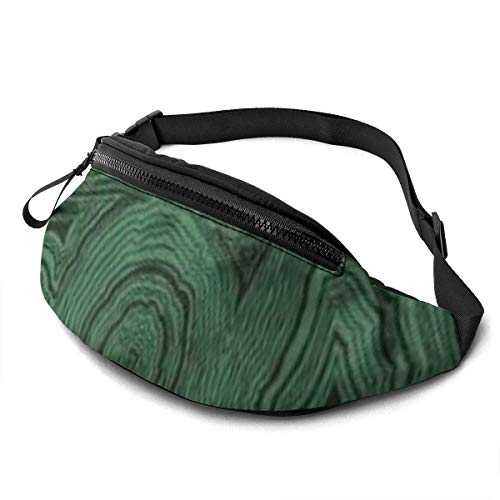 XCNGG Laufende Hüfttasche Freizeit Hüfttasche Hüfttasche Mode Hüfttasche Abstract Green Fanny Packs for Women and Men Waist Bag Adjustable Belt for Outdoors Workout, Traveling,Casual Running,Hiking, C