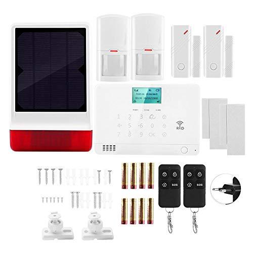 Sirena de luz de Sonido, Seguridad de Alarma de casa, Ahorro de energía Seguridad de protección de(European Standard (110-240V))