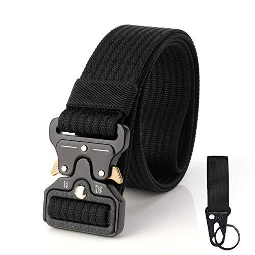 S.Lux, Cinturón de tela para hombres con una abrazadera, Cinturón de plástico...