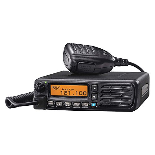 ICOM IC-A120 VHF Airband Transceiver New Version of Icom IC-A110