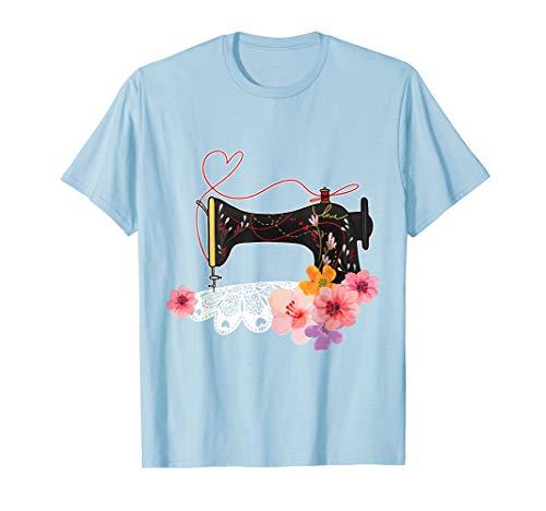 Sewing Machine Seamstress Tailor Sew Gift Women Kids T-Shirt