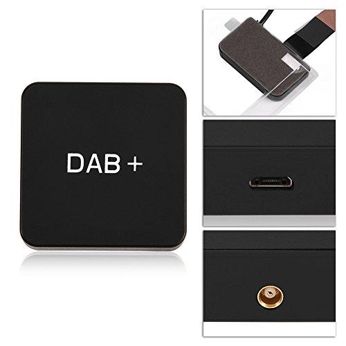 Fosa Voiture Kit Digital Audio Diffusion DAB DAB + Boîte Récepteur Radio Adaptateur avec Antenne pour Android