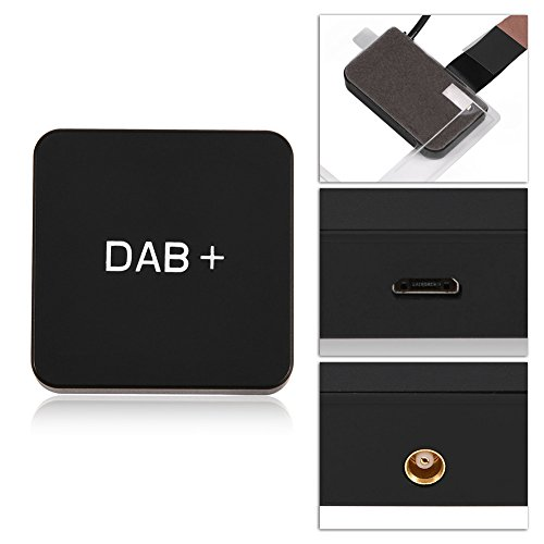 Zunate DAB Auto Stereo Receiver Kit, Auto DAB+ Digitale Radio Adapter, Car Kit Digital Audio Broadcast, DAB DAB + Box Receiver Adapter met antenne voor Android 5.1 Autoradio
